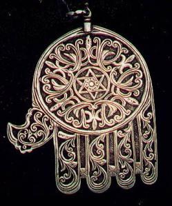 Amuleto para pensamento positivo